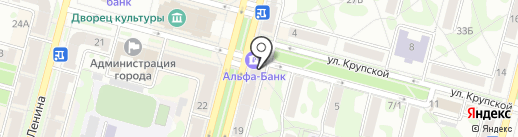 От и До... на карте Железногорска