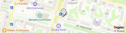 Мебелёво на карте Железногорска