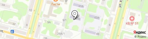 Детский сад №22 на карте Железногорска