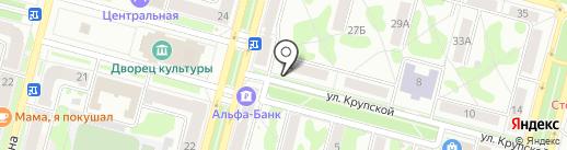 Лукоморье на карте Железногорска