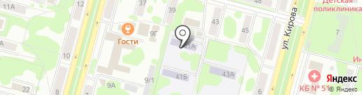 Детский сад №23 на карте Железногорска
