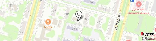Управление пенсионного фонда в г. Железногорске на карте Железногорска
