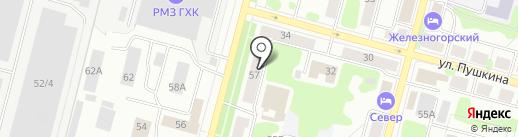 Ташир пицца на карте Железногорска