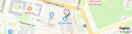 Альбатрос на карте Железногорска