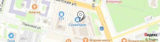 Свежие продукты на карте Железногорска