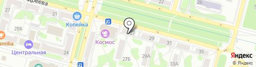 Ева на карте Железногорска