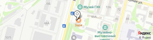 Комфорт на карте Железногорска