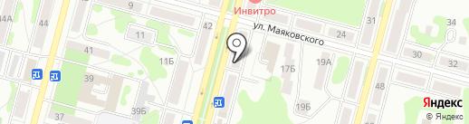 Магазин семян на карте Железногорска