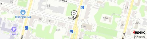 Русь на карте Железногорска