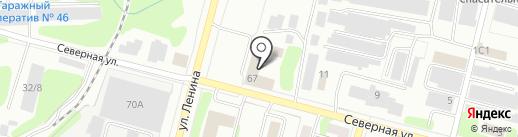 ГУССТ №9 при Спецстрое России на карте Железногорска