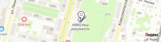 Мои документы на карте Железногорска