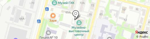 Форд на карте Железногорска