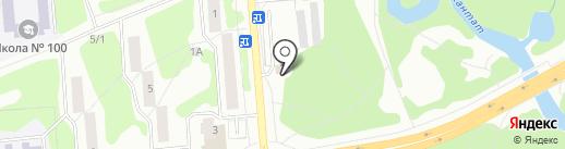 Аврора на карте Железногорска