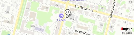 Bank Beer на карте Железногорска