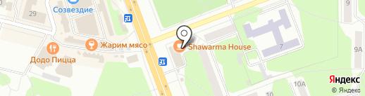 Сплайс-М на карте Железногорска