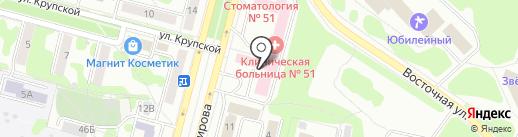 Наринэ на карте Железногорска