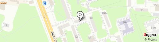 Велга на карте Железногорска