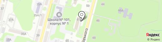Отдел судебных приставов по г. Железногорску на карте Железногорска