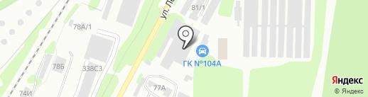 Алюком на карте Железногорска