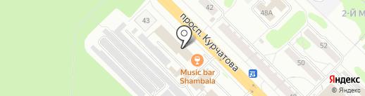 Ростелеком, ПАО на карте Железногорска