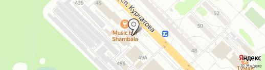 Абсолем на карте Железногорска