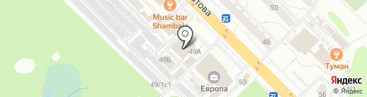 Комиссионный торгово-сервисный центр на карте Железногорска