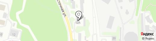 Гортеплоэнерго, МП на карте Железногорска