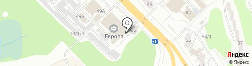 Банкомат, Совкомбанк, ПАО на карте Железногорска