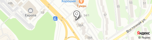 Золотой ключ на карте Железногорска
