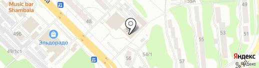 Арго на карте Железногорска