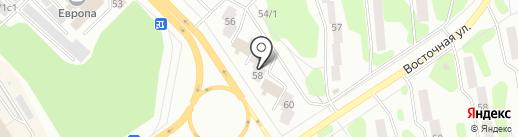 Авантаж на карте Железногорска