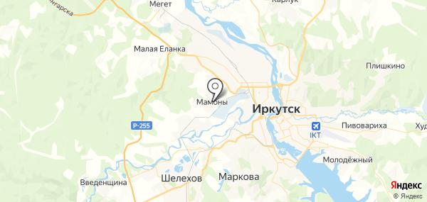 Мамоны на карте