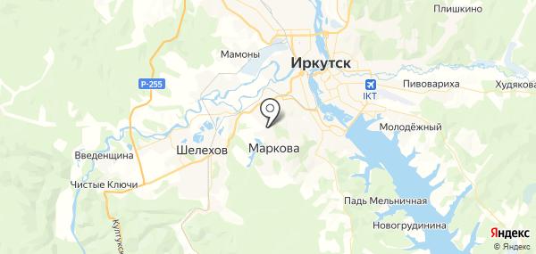 Маркова на карте