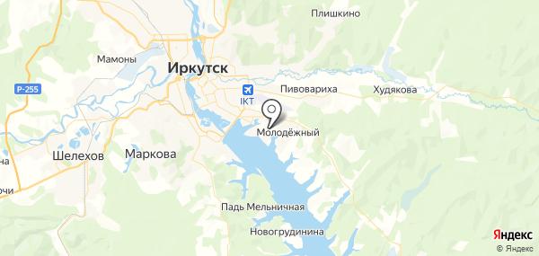 Новая Разводная на карте