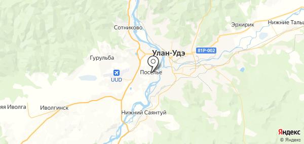 Поселье на карте