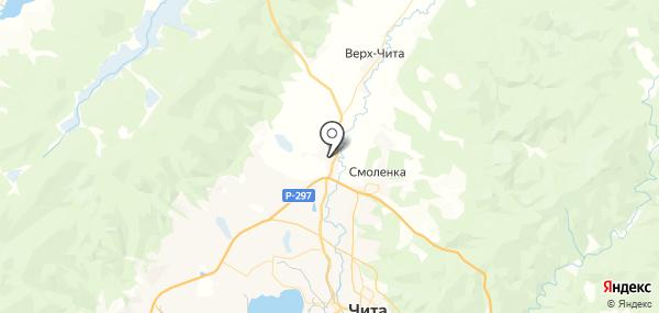 Угдан на карте