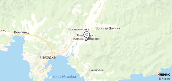 Владимиро-Александровское на карте