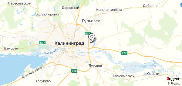 Большое Исаково на карте