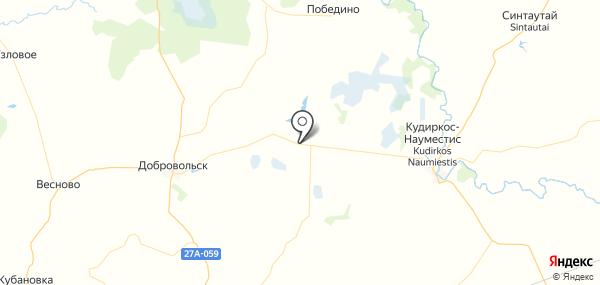 Кутузово на карте
