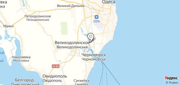 Таирово на карте