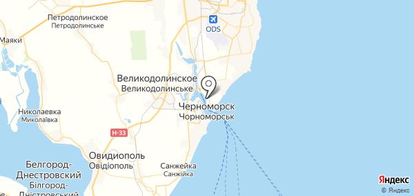 Бурлачья Балка на карте