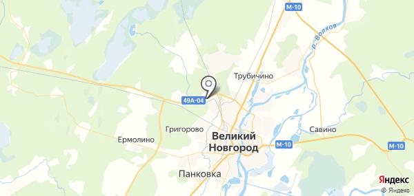 Сырково на карте