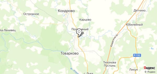 Полотняный Завод на карте