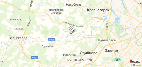 Мечниково на карте