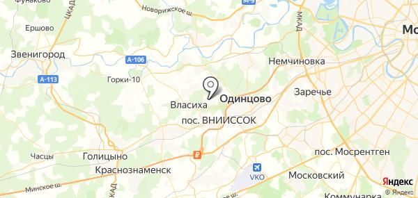 Власиха на карте