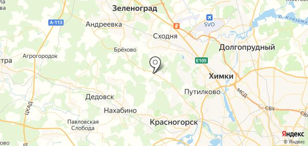 Юрлово на карте