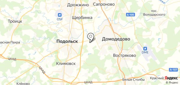 Щербинка на карте