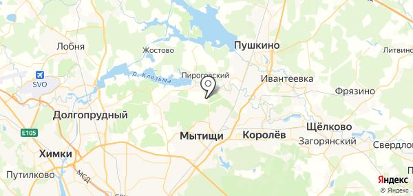 Высоково на карте