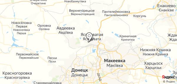 Красный Октябрь на карте