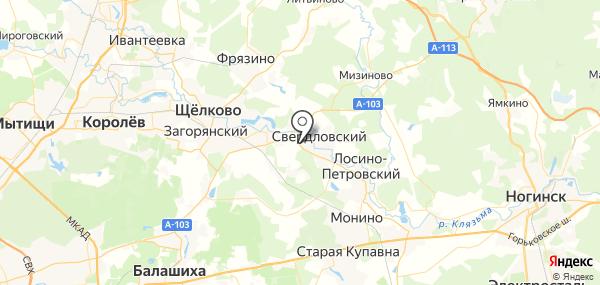 Аничково на карте